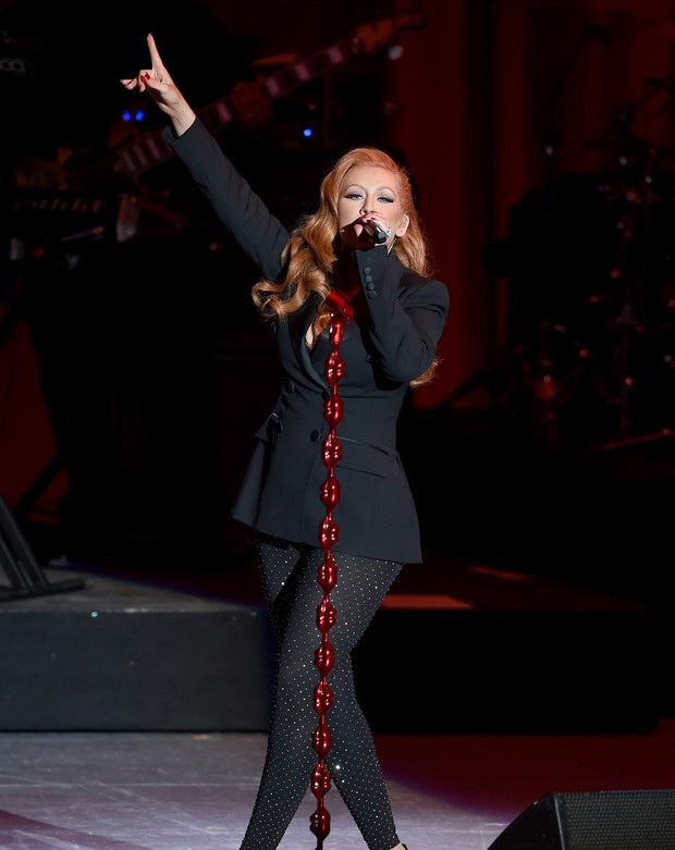 Christina Aguilera (Foto: KEVIN WINTER / GETTY IMAGES NORTH AMERICA / AFP)