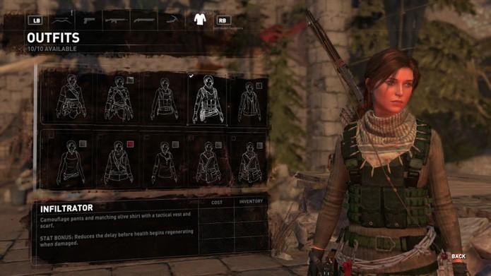 Outfit Infiltrator (Foto: Reprodução/Twinfinite)