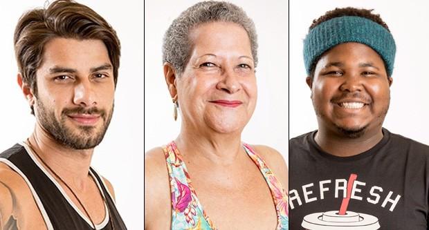 Renan, Geralda e Ronan (Foto: Globo)
