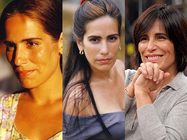 Glória Pires brilhou como Ruth e Raquel na novela Mulheres de Areia (Foto: Vídeo Show / Gshow)