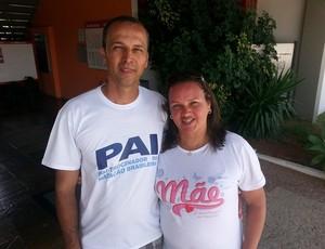 Pais Coruja Copa Integração de Natação (Foto: Diego Alves)
