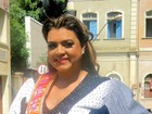 Fã de carnaval, Preta Gil marca presença na folia de Pé na Cova