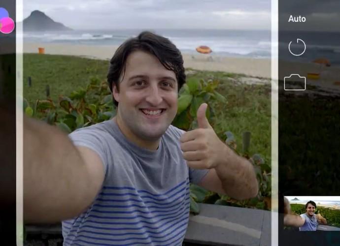 Zorra mostra situação cômica com turistas (Foto: TV Globo)