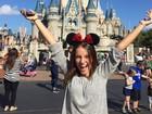 Kiria Malheiros curte férias nos parques de Orlando com a família