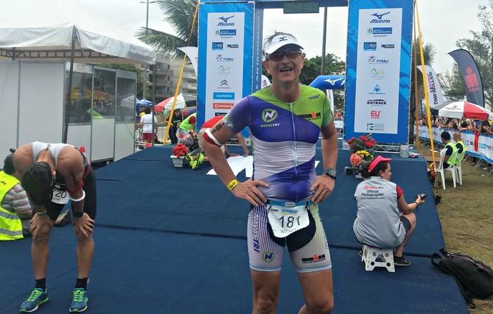 EuAtleta - Iron 70.3 Rio coroa (Foto: Renata Domingues)