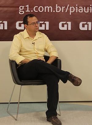 G1 entrevista Daniel Solon (Foto: Patricia Andrade/G1)