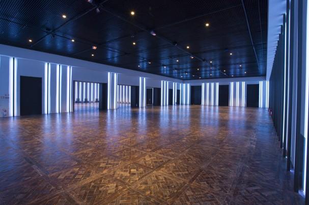 O salão principal do espaço em São Paulo (Foto: Beto Riginik)