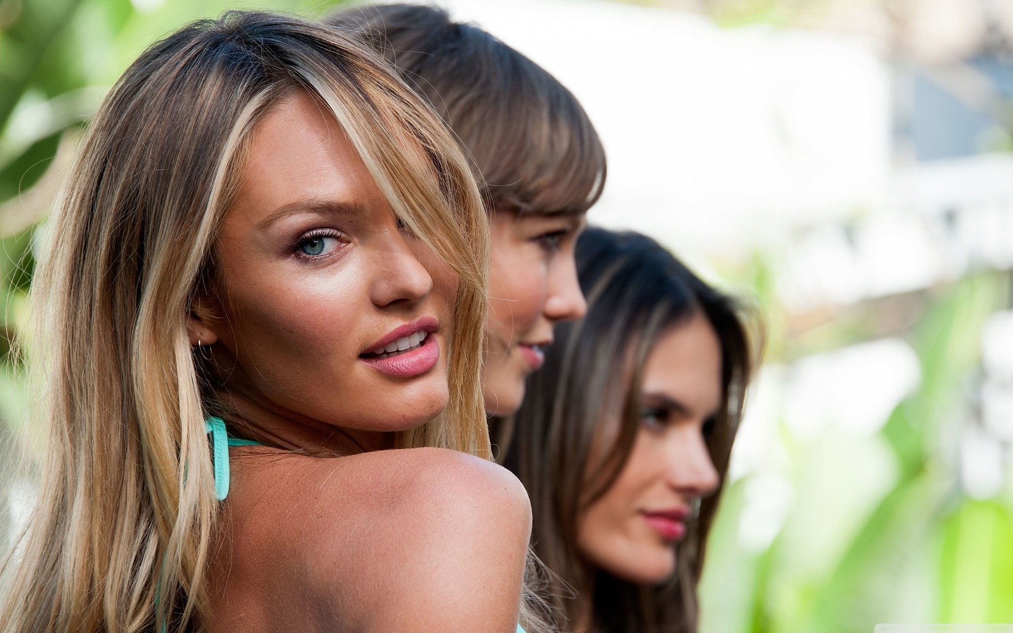 Modelo Candice Swanepoel, da Victoria's Secret (Foto: Flickr/ Kou Art)