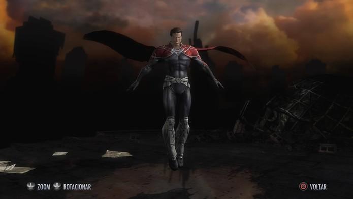 Skins de Injustice: Superman Godfall (Foto: Reprodução/Felipe Vinha)