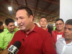 Lucas Barreto disse que esperava pela aliança com o Psol (Foto: Dyepeson Martins/G1)