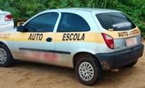 Domingo (1º) - Carro de auto escola é apreendido durante blitz da Lei Seca em Natal (Divulgação/PM)