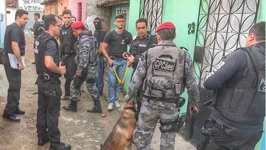 Polícia prende quadrilha liderada por preso que chefiava tráfico no Ceará