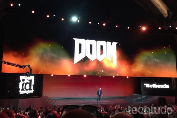 Doom, reboot da franquia, trará diversos personagens clássicos (Foto: Viviane Werneck/TechTudo)