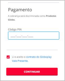 Pagamento  (Foto: Globoplay)