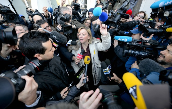 Sabine Khem, assessora de Michael Schumacher (Foto: Agência AFP)