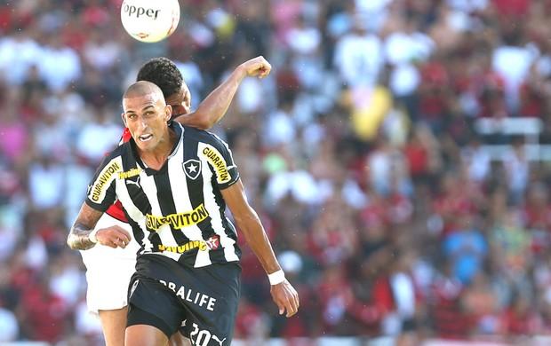 Rafael Marques na partida do Botafogo contra o Flamengo (Foto: Satiro Sodré / Agif)