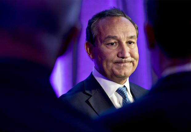 O CEO da United Airlines, Oscar Muñoz (Foto: Getty Images)