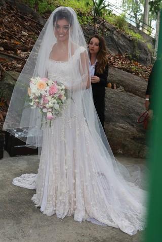 Fiorella Mattheis - Casamento Sophie Charlotte e Daniel de Oliveira (Foto: Dilson Silva, Delson Silva e Felipe Assumpção)