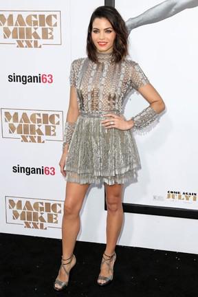 Jenna Dewan Tatum em première de filme em Los Angeles, nos Estados Unidos (Foto: Frederick M. Brown/ Getty Images/ AFP)