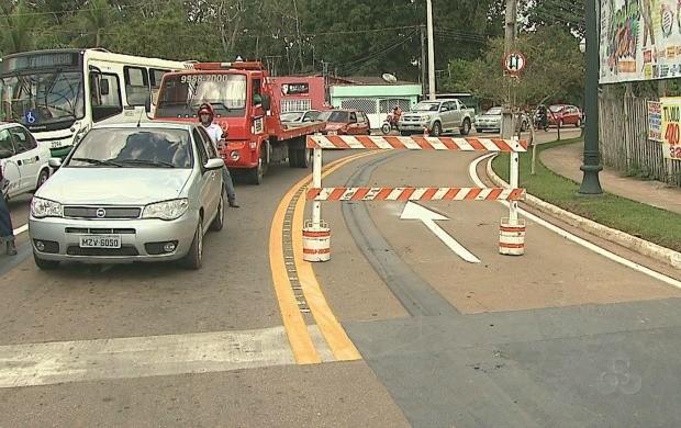O trânsito passa por transformações para que ocorra mais fluidez no tráfego. (Foto: Bom Dia Amazônia)