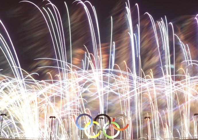 Festa de encerramento Olimpíada Rio de Janeiro Maracanã (Foto: REUTERS / Ricardo Moraes)