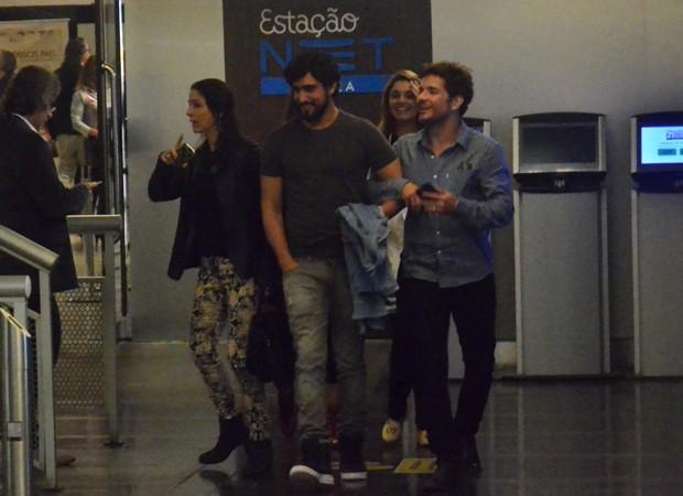 Renato Góes, Daniel de Oliveira, Thaila Ayala e Sophie Charlotte (Foto: Agnews)