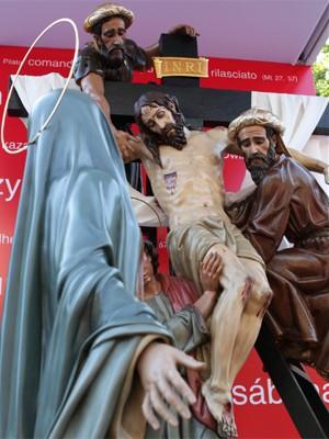 Via-Sacra na Jornada Mundial de Madri, em 2011  (Foto: Divulgação/JMJ Madri 2011)