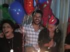 Duda Nagle ganha festa de aniversário ao lado de Sabrina Sato