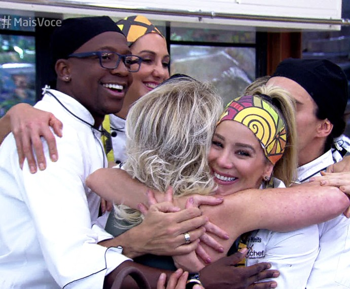 Dani Winits deixa o 'Super Chef 2016' (Foto: TV Globo)
