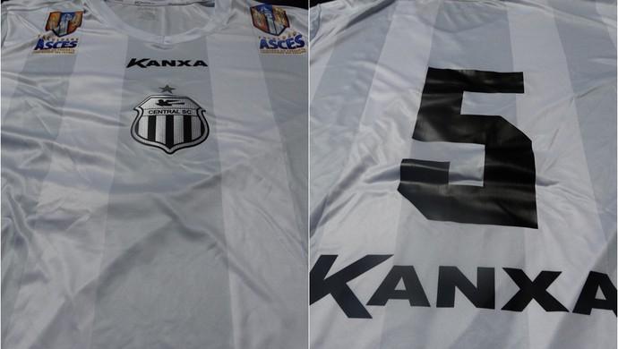 Confira as novas camisas do Central para disputa do Pernambucano 2017 360c5555961df