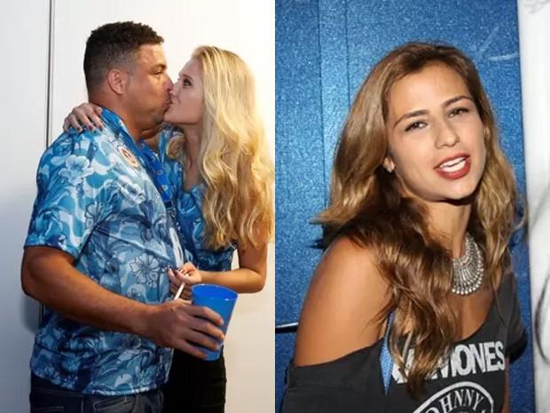 Ronaldo e namorada, Celina Locks | Paula Morais (Foto: Felipe Panfili/ Ag. News | Gabriela Andrade)