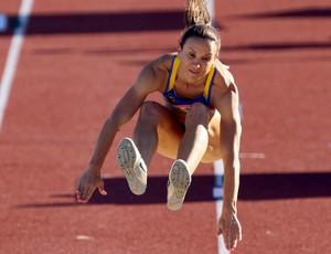 Maurren Maggi, salto em distância jogos pan-americanos (Foto: Jefferson Bernardes / Vipcomm)