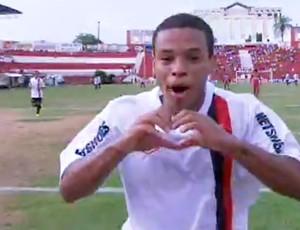 FRAME - Harrison atlético-PR gol paranavaí (Foto: SportV)