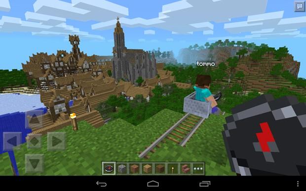 'Minecraft: Pocket Edition' (Foto: Divulgação/Mojang)