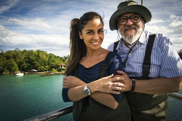 Giovanna Antonelli e Luis Melo interpretam filha e pai na novela Sol Nascente (Foto: Globo/João Miguel Júnior)