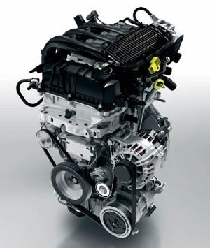 Motor 1.2 três cilindros flex PureTech do novo Peugeot 208 (Foto: Divulgação)