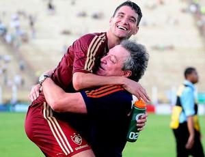Thiago Neves e Abel Braga Fluminense campeão (Foto: Alexandre Durão / Globoesporte.com)