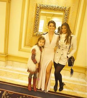 Flávia Alessandra com as filhas Giulia e Olivia (Foto: Reprodução / Instagram)