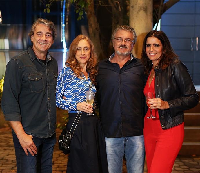Alexandre Borges, Betty Gofman, Werner Schünemann e Malu Mader fazem parte do elenco de 'Haja Coração' (Foto: Fabiano Battaglin / Gshow)