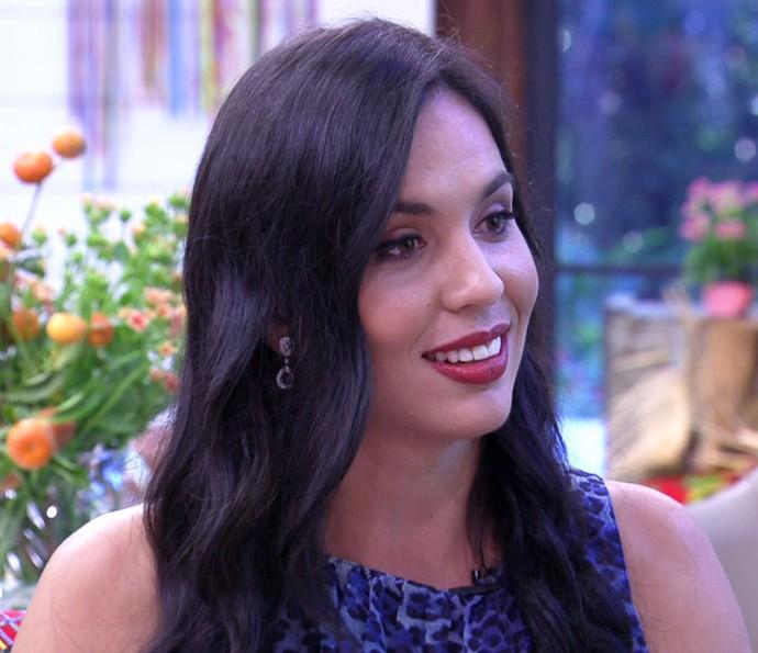 Lorhana diz ter ficado triste com nota baixa no Jogo de Panelas 19 (Foto: TV Globo)