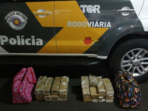 Criminosos foram  (Foto: Divulgação/ Polícia Rodoviária)