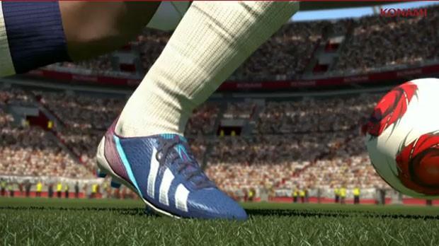 Fox Engine é motor gráfico que traz visual mais próximo do real para o futebol virtual de 'PES 2014' (Foto: Divulgação/Konami)
