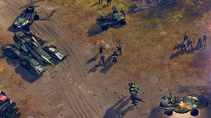 Halo Wars 2 diverte mais nos modos multiplayer (Foto: Divulgação/Microsoft)
