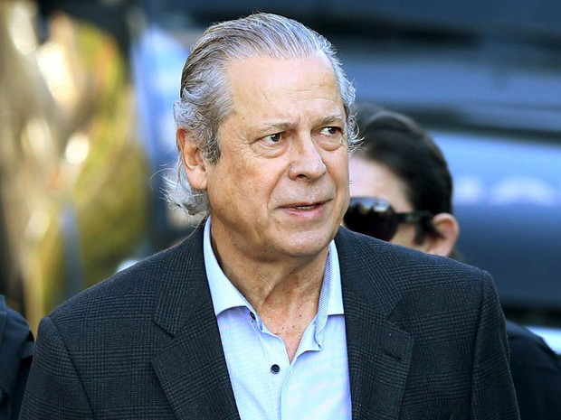 O ex-ministro José Dirceu, em foto de 31 de agosto de 2015 (Foto: Rodolfo Buhrer/Reuters)