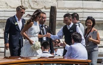 Schweinsteiger e Ivanovic se casam em pequena cerimônia em Veneza