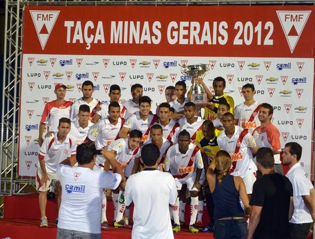 Boa Esporte é bicampeão da Taça Minas Gerais. (Foto: Tiago Campos / Globoesporte.com)