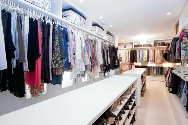 Organização de closets (Foto: Nani Azevedo)