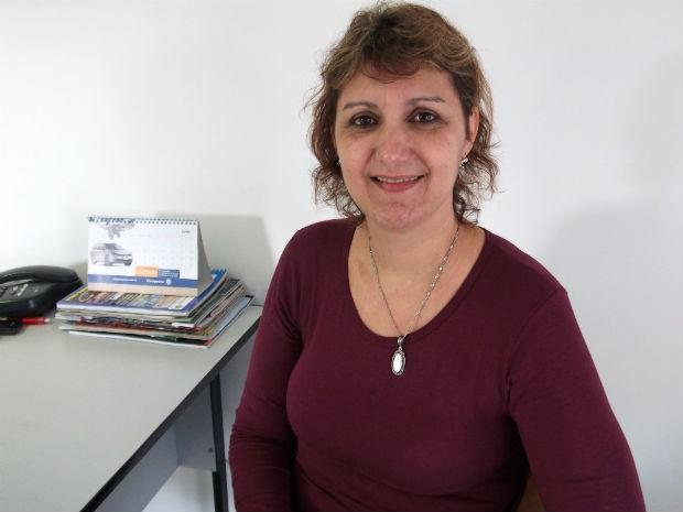 Sirlei Brisida deve assumir o cargo de vereadora de Medianeira com apenas um voto (Foto: Cassiane Seghatti/G1)