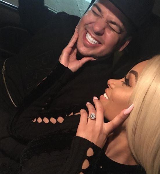 Blac Chyna ganha anel de R$1,2 milhão do noivo Rob Kardashian (Foto: Reprodução do Instagram)