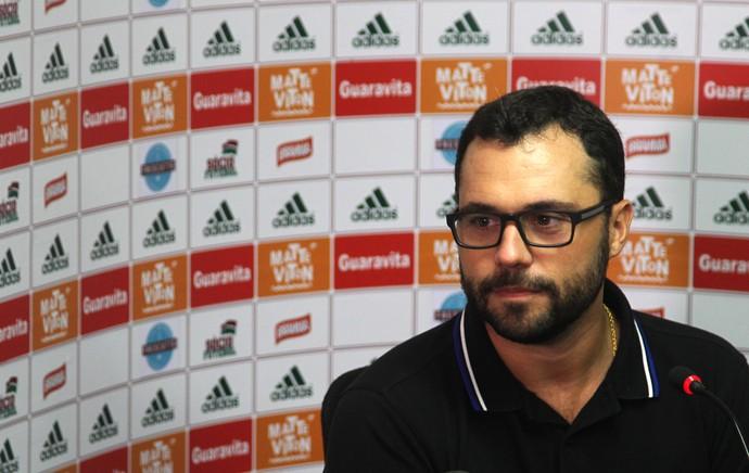 Coletiva Fluminense - Mário Bittencourt (Foto: Nelson Perez / Fluminense FC)